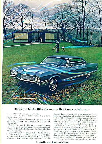 Buick '66 Electra 225 Ad