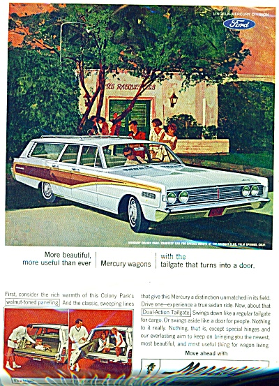Mercury Automobile For 1966 Ad