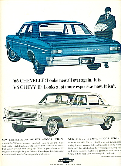 Chevrolet motor car for 1966  ad (Image1)