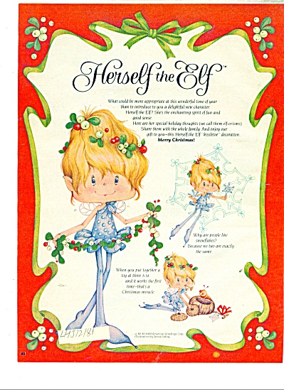 Herself the Elf story  -  December 1981 (Image1)