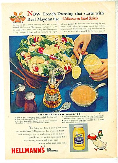 Hellman's Real Mayonnaise ad - 1957 (Image1)