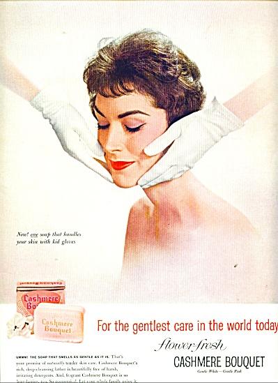 Cashmere Bouquet ad Woman - Kid Gloves (Image1)