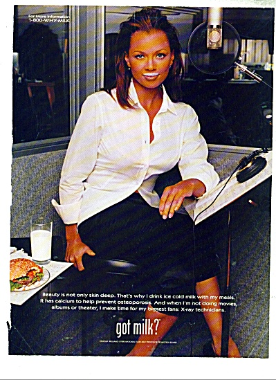 Got Milk ad - Vanessa Williams (Image1)