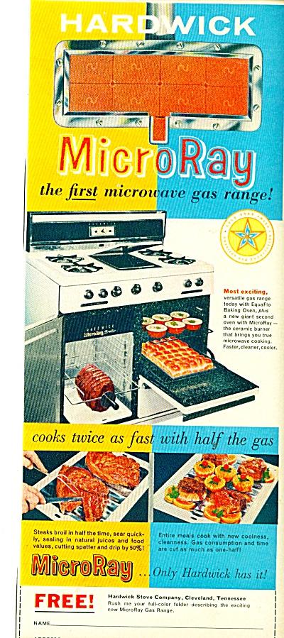 Micro Ray gas range ad - 1959 (Image1)