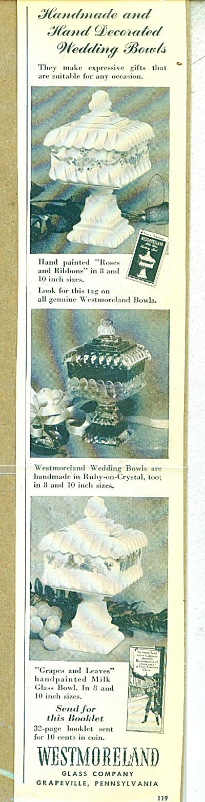 Westmoreland glass company ad - 1951 (Image1)