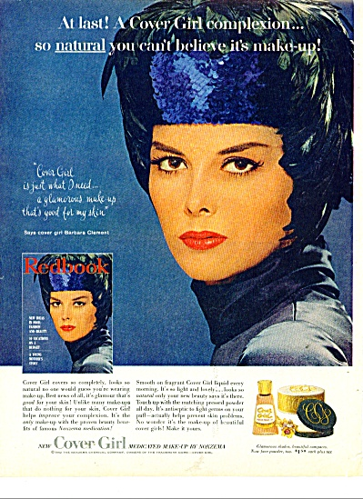 1962 Cover Girl BARBARA CLEMENT Model AD (Image1)