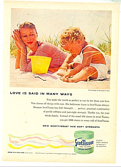 Scot Tissue ad - 1957 (Image1)