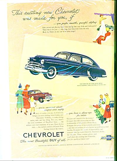 Chevrolet automobile ad - 1949 (Image1)