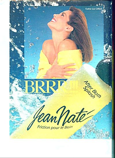 Jean Nate - KATHIE LEE GIFFORD - ad 1989 (Image1)
