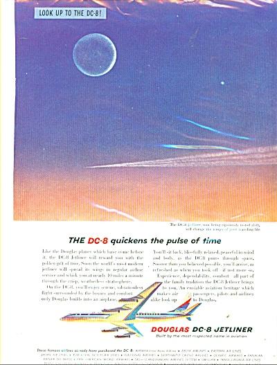 Douglas DC-8 Jetliner ad  - 1958 (Image1)