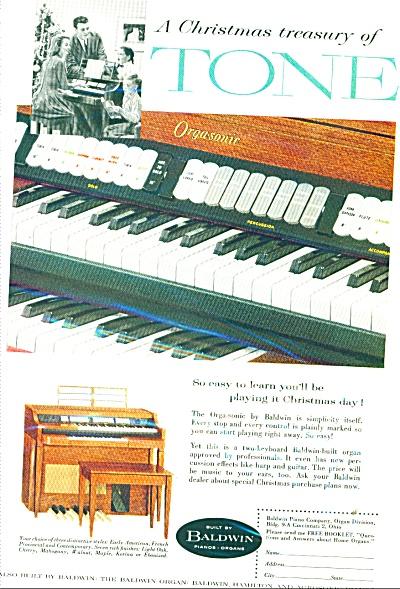 Baldwin piano company ad - 1958 (Image1)