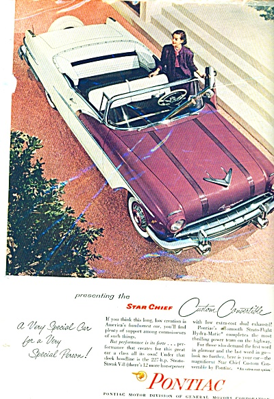 Pontiac Automobile Star Chief ad -  1956 (Image1)
