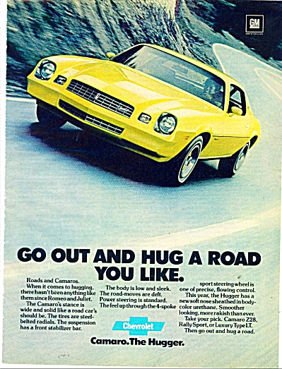 Chevrolet Camaro ad Z28 YELLOW Rally SPORT (Image1)