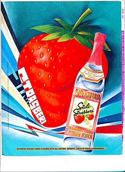 Stoli Strasberi Russian Vodka ad (Image1)