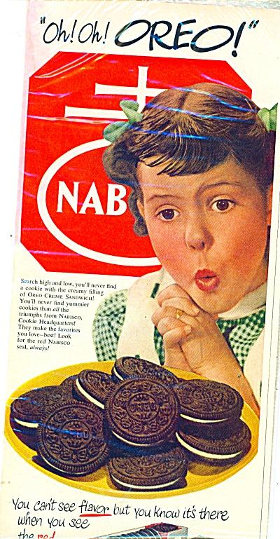 Oreo Cookies ad -  1951 (Image1)