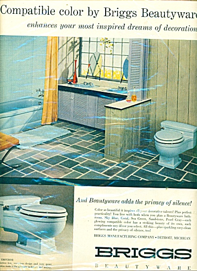 Briggs Beautyware ad - 1957 (Image1)