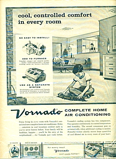 Vornado Complete Home Air Conditioning Ad