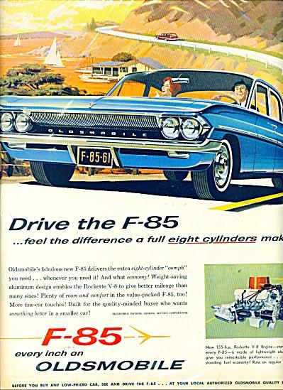 F-85 Oldsmobile  automobile ad (Image1)
