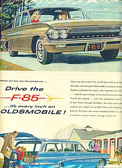 Oldsmobile F-85 automobile  ad (Image1)