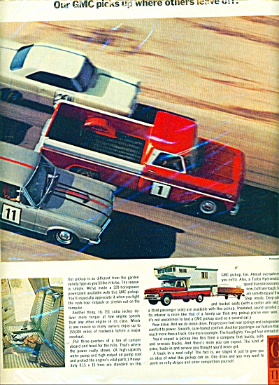1966 GMC Trucks AD - RACING PICKUPS (Image1)