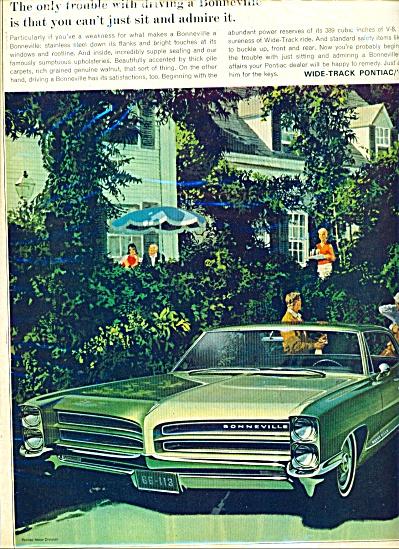 Pontiac Bonneville ad - 1966 (Image1)