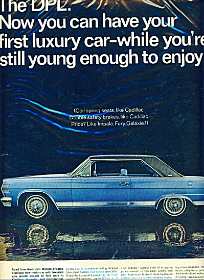 American Motors automobiles 1965 (Image1)