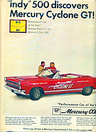 Mercury Comet automobile - 1966 (Image1)