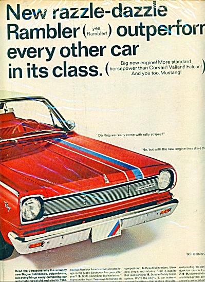 American Motors Rambler 1966 ad (Image1)