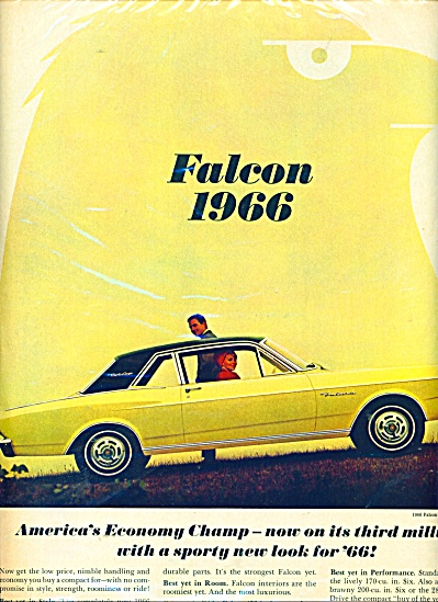 Ford Falcon for 1966 ad (Image1)