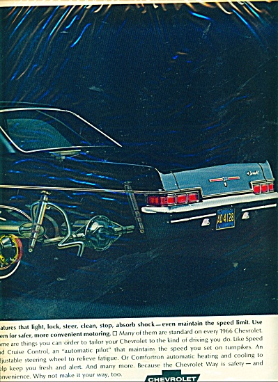 Chevrolet automobile for 1966 ad (Image1)