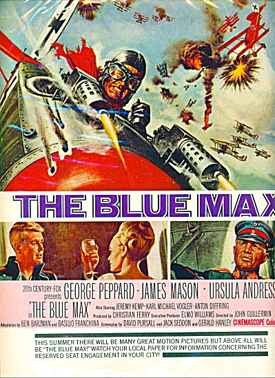 Movie: The Blue Max - George Peppard ad (Image1)
