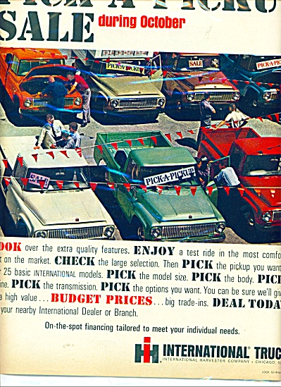 International Trucks  ad  1965 (Image1)