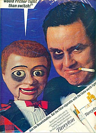 1965 Tareyton Cigarette AD Ventriloquist (Image1)