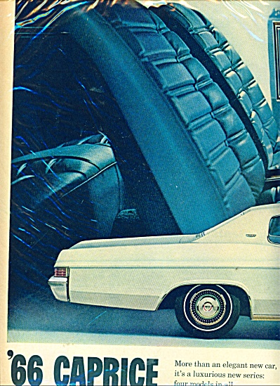 Chevrolet Caprice for 1966 ad (Image1)