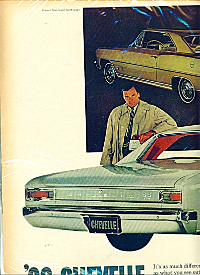 Chevrolet Chevelle and Chevy II ad - (Image1)