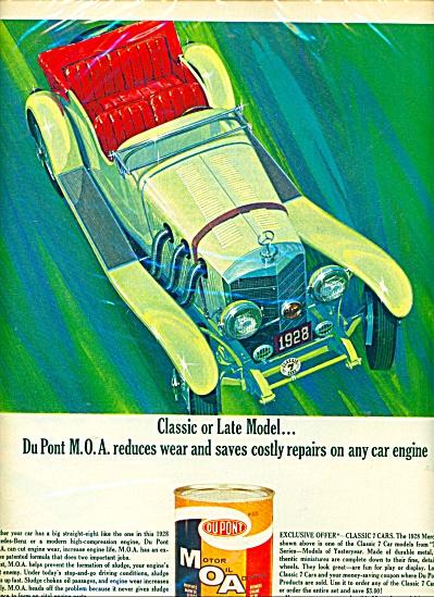 DuPont M.O.A. (Motor oil) - ad  1965 (Image1)