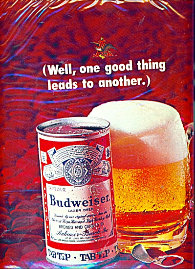 Budweiser beer ad  - 1947 (Image1)