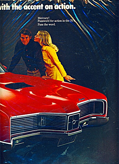 Mercury Cyclone Automobile Ad 1969