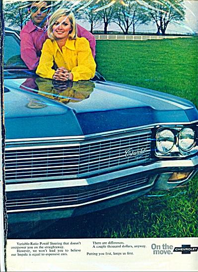 1970 Chevrolet Impala ad (Image1)