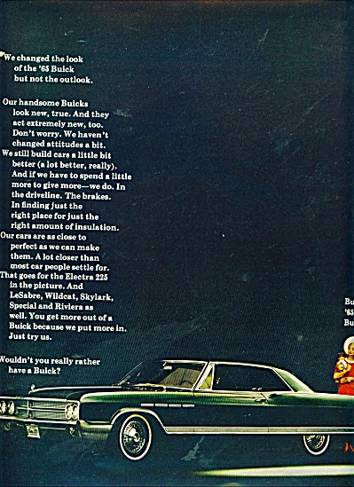 Buick automobile for 1965 ad (Image1)
