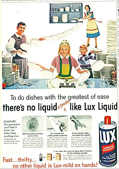 Lux Liquid detergent ad (Image1)