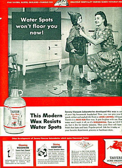 Tavern Home Products by Socony Vacuum ad - 44 (Image1)