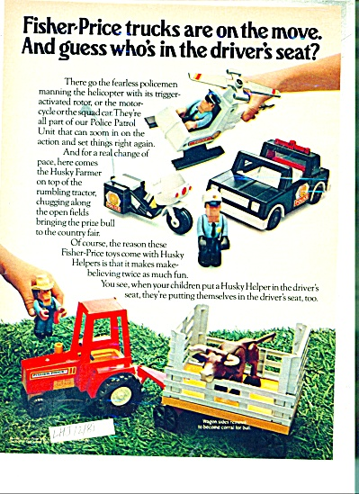 Fisher Price toys ad = 1981 (Image1)