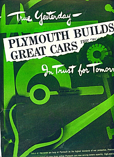 P{lymouth Builds Great Cars Ad