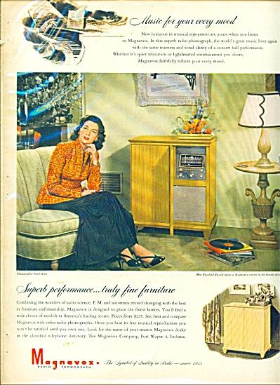 1946 Magnavox ROSALIND RUSSELL AD Paul Hesse (Image1)