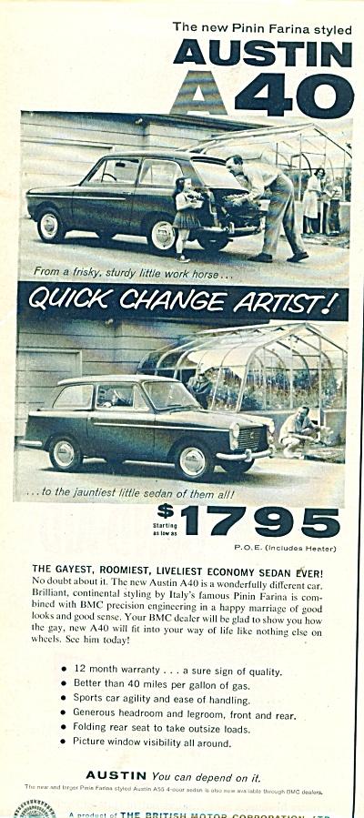 Austin A40  automobile ad (Image1)