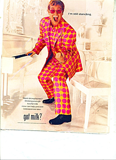 Got Mile Ad -  2000  ELTON JOHN (Image1)