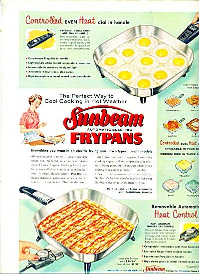 Sunbeam frypans ad. = 1958 (Image1)
