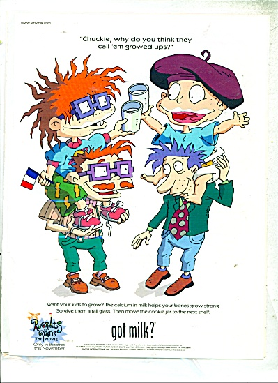 Got Milk ad - Rugrats in Paris - (Image1)