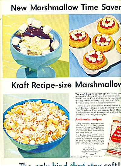 Kraft Miniature marshmallows ad (Image1)